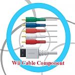 כבל קומפוננט איכותי Wii Cable Component