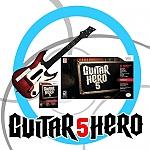 Guitar Hero 5 Bundle Guitar - Wii *