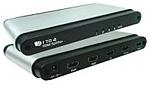 מפצל מסכים Viewcon 4 Ports HDMI Splitter VE645