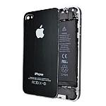 גב אחורי שחור אייפון 4
