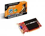 כרטיס מסך מתצוגה Asus ATI Radeon EAH4350 Silent 512MB GDDR2 DX10.1 HDTV DVI PCI-E 2.0