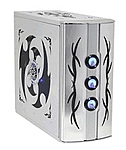 מארז ללא ספק מתצוגה Raidmax SIRIUS ATX Mid Tower Silver Gaming ATX-701S