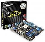 לוח אם מתצוגה Asus F1A55-M LE FM1, AMD A75, DDR3 1866, VGA, DVI, GBL
