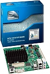 לוח אם מתצוגה Intel D2700DC Atom D2700, Intel NM10, 2xDDR3 SODIMM, DVI, HDMI, Mini-ITX