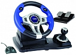 הגה מירוצים מתצוגה Logic 3 TopDrive GT 3-in-1 Racing Wheel Joystick For Ps2,Ps3