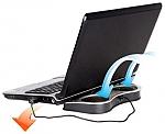 משטח קירור נייד למחשב נייד Antec Notebook Cooler To Go