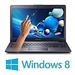 מחשב נייד עם מסך מגע - Samsung ATIV Book 5 NP540U4E-K01IL - צבע שחור