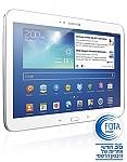 טאבלט Samsung Galaxy Tab 3 GT-P5210 - WiFi - צבע לבן