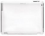 כיסוי לאייפד iWalk New Smart Cover Grip For iPad 4 / iPad 3 / iPad 2 White