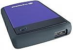 כונן קשיח חיצוני Transcend StoreJet 25H3P TS500GSJ25H3P 500GB USB 3.0 - צבע סגול