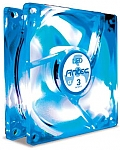 מאורר למארז Antec TriCool B-LED 120mm Case Fan