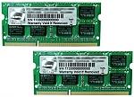 זכרון למחשב נייד G.Skill 2x8GB DDR3 1600Mhz SODIMM