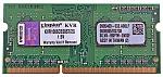 זכרון למחשב נייד Kingston 1x2GB DDR3 1066Mhz ValueRam SODIMM