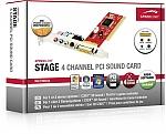 כרטיס קול SpeedLink Stage 4-Channel PCI Sound Card