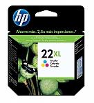 ראש דיו צבעוני מקורי HP No: 22XL C9352CE