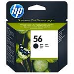 ראש דיו שחור מקורי HP No: 56 C6656A