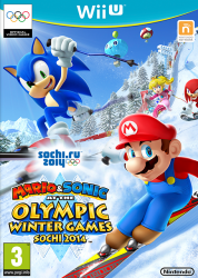 WII-U Mario & Sonic At The Olympic Winter Games Sochi 2014