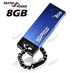 זיכרון נייד 8GB של Silicon Power Touch 835