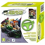 Wii Ben 10 Galactic Racing + Wii Wheel