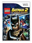 WII batman 2 dc super heroes