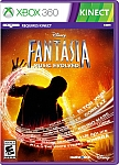 XBOX 360 Fantasia Music Evolved