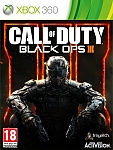 XBOX 360 CALL OF DUTY BLACK OPS III אירופאי!!