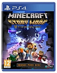 PS4 Minecraft Story Mode אירופאי!