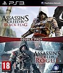 PS3 Assassin's Creed Rogue Black Flag Double Pack