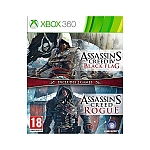 XBOX 360 Assassin's Creed Rogue Black Flag Double Pack