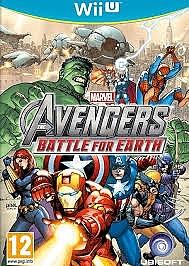 WII U Marvel Avengers Battle for Earth - 1