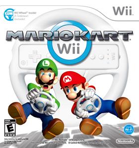 Wii mario kart - 1
