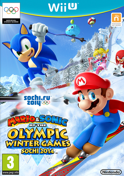 WII-U Mario & Sonic At The Olympic Winter Games Sochi 2014 - 1