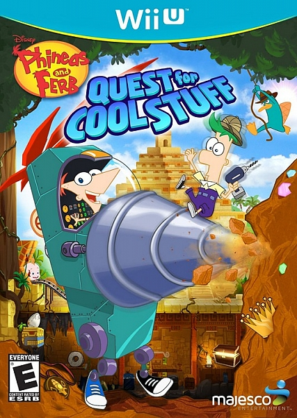 WII U Phineas and Ferb Quest for Cool Stuff - 1