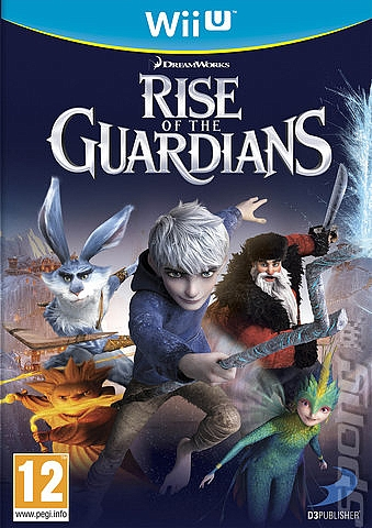 WII U Rise of the Guardians - 1