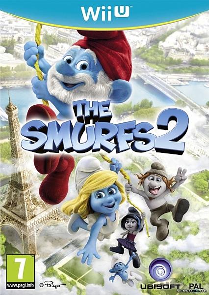 WII U The Smurfs 2 - 1