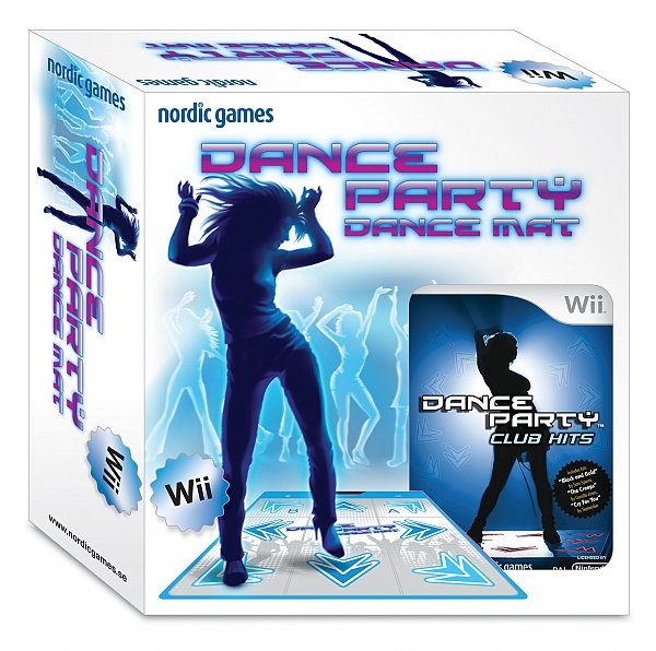 WII Dance Party שטיח + משחק - 1