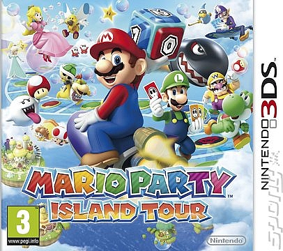 3DS Mario Party Island Tour - 1
