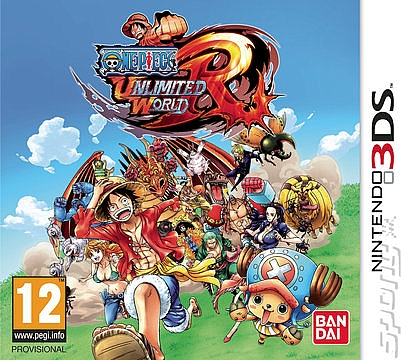 3DS One Piece Unlimited World Red - 1