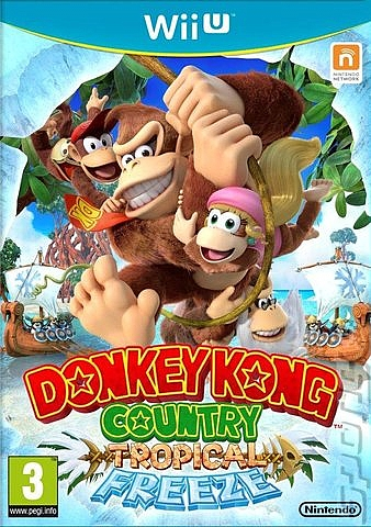 WII-U Donkey Kong Country Tropical Freeze - 1