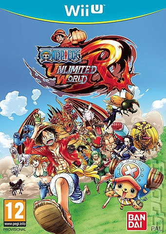 WII-U One Piece Unlimited World Red - 1