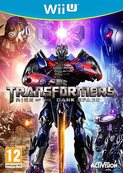 WII U Transformers Rise of the Dark Spark - 1