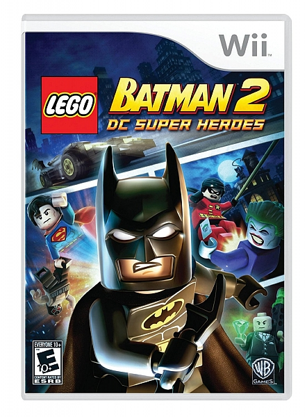 WII batman 2 dc super heroes - 1