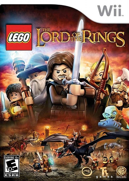 WII THE LORD OF THE RINGS - 1