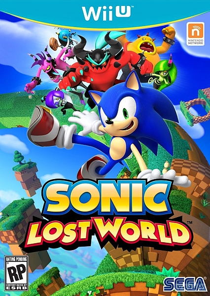 WII U sonic lost world - 1