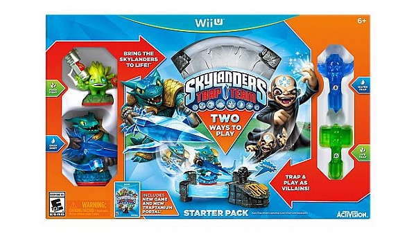 WIIU Skylanders: Trap Team - 1