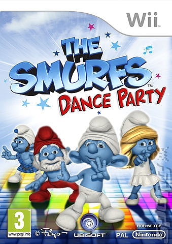 WII THE SMURFS DANCE PARTY - 1