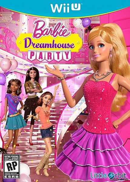WII U Barbie Dreamhouse Party - 1