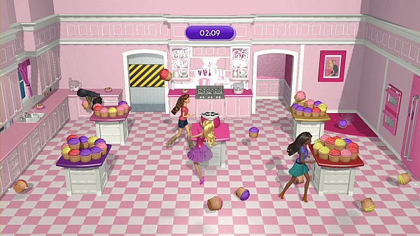 WII U Barbie Dreamhouse Party - 2