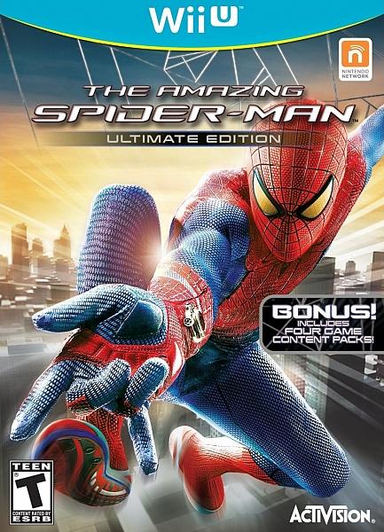 WIIU The Amazing SpiderMan - 1