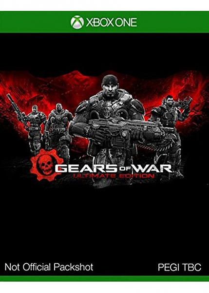 XBOX ONE Gears Of War Ultimate Edition אירופאי!! - 1